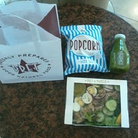 Photo taken at Pret A Manger by Andrea Z. on 3/10/2014