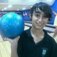 Photo taken at Cataratas Bowling Center by Mayra D. on 9/18/2012