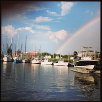 Photo taken at Shem Creek by Jeffrey G. on 7/25/2013