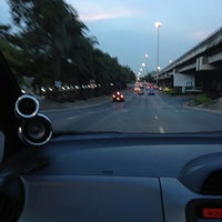 Photo taken at Wat Rama IX Intersection by Princess P. on 10/23/2012