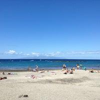 Photo taken at Playa de Torviscas by Zina K. on 4/2/2013