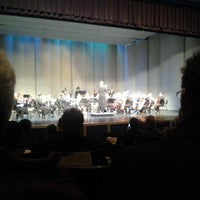 Photo taken at Stoughton High School Auditorium by Jordan S. on 12/7/2012