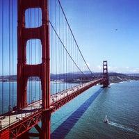 Photo taken at Golden Gate Bridge by Josiah R. on 5/17/2013