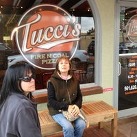 Photo taken at Tucci's Fire N Coal Pizza by Syd H. on 2/18/2013