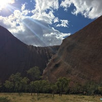 Photo taken at Uluru by Mariana M. on 9/23/2016