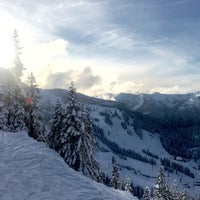 Photo taken at Foggy Goggle Bar & Grill (Stevens Pass) by Nick P. on 2/21/2016