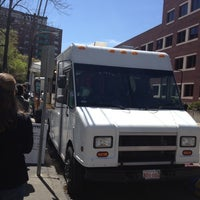 Photo taken at Clover Food Truck by alicetiara on 4/18/2012