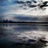 Photo taken at Lake Calhoun by Jeff G. on 6/15/2013