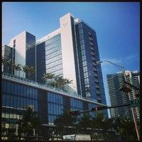Photo taken at W South Beach by Michael R. on 4/26/2013