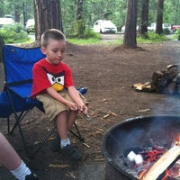 Photo taken at Pinecrest Campground by Kellee L. on 7/7/2013