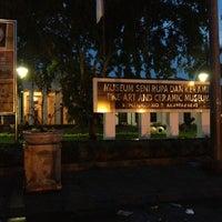 Photo taken at Museum Seni Rupa dan Keramik by Herry L. on 1/19/2015