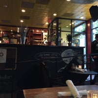 Photo taken at Busboys and Poets by Katrina W. on 10/10/2015