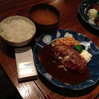 Photo taken at 山本のハンバーグ 恵比寿本店 by Rosetta on 7/18/2013