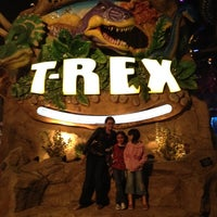 Photo taken at T-Rex Cafe by Heather M. on 10/19/2012