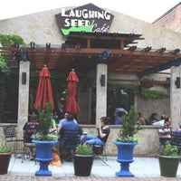 Photo taken at Laughing Seed Cafe by Soumya I. on 9/25/2016
