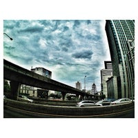 Photo taken at Si Rat Expressway Sector A by Podum S. on 7/31/2013