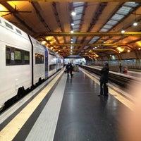 Photo taken at Fiumicino Aeroporto railway station (ZRR) by Edoardo M. on 11/11/2012