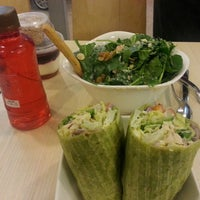 Photo taken at SaladStop! by Ron P. on 2/28/2013
