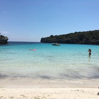 Photo taken at Cala Turqueta by Mariano D. on 6/6/2016