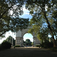Photo taken at Prospect Park Loop by Ali P. on 8/16/2013