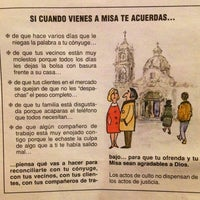 Photo taken at Iglesia San Judas Tadeo by Juan Carlos M. on 2/17/2014
