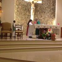 Photo taken at Iglesia San Judas Tadeo by Juan Carlos M. on 3/3/2014