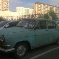 Photo taken at Микрорайон «Кожухово» by Антон Х. on 8/18/2016