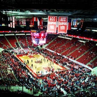 Photo taken at PNC Arena by Robert S. on 3/7/2013