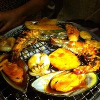 Photo taken at Sukishi BBQ by Nok P. on 4/30/2013
