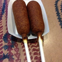 Photo taken at Hot Dog on a Stick by Sean W. on 1/21/2014