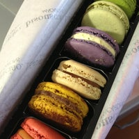 Photo taken at Bisous Ciao Macarons by Lily T. on 5/15/2013
