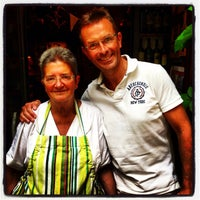 Photo taken at Osteria Del Matto by Michel P. on 8/9/2013