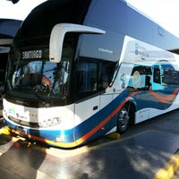 Photo taken at Terminal de Buses Santiago by Pablo Alejandro G. on 7/23/2013