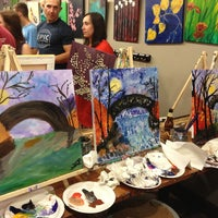 Photo taken at Sipping N' Painting by Sarah B. on 8/17/2013
