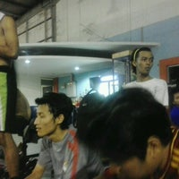 Photo taken at Mayasari Futsal by Agung B. on 10/9/2012