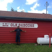 Photo taken at Lil' Ole Caboose by Ian T. on 6/24/2013