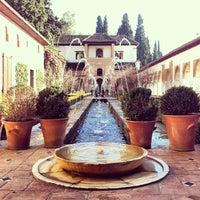 Photo taken at La Alhambra y el Generalife by Denise D. on 12/18/2012