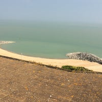 Photo taken at Folkestone by Elizabeth S. on 6/12/2015