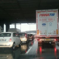 Photo taken at A4 - Barriera «Milano Ghisolfa» by Pozzi S. on 11/26/2012