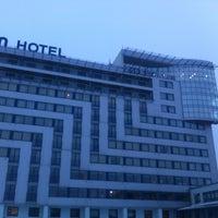 Photo taken at Bellevue Park Hotel Riga by morel p. on 1/28/2013