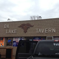 Photo taken at Ox Lake Tavern by Tony W. on 10/20/2012