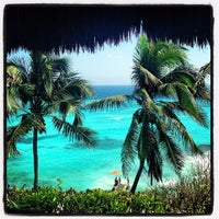 Photo taken at Isla Mujeres by Katrin P. on 4/22/2013