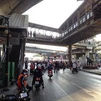Photo taken at Sala Daeng Intersection by MrPae T. on 1/13/2014