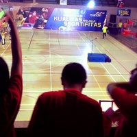 Photo taken at GOR Manahan by silviadya on 11/22/2014