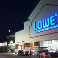 Photo taken at Lowe's Home Improvement by Rich G. on 8/21/2013