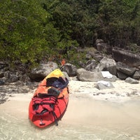 Photo taken at Caribbean Paddling - Canoe - Kayak - Paddle Board by Peter F. on 8/14/2013