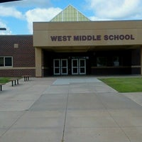 Photo taken at West Middle School by Jackie B. on 7/26/2013