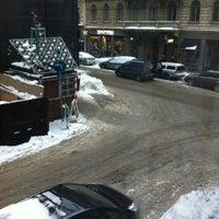 Photo taken at Mornington Hotel Stockholm City by Awanda E. on 12/11/2012