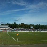 Photo taken at Stadion Wijayakusuma Cilacap by Tama C. G. on 4/19/2013