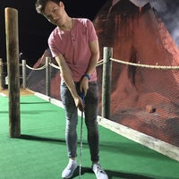 Photo taken at Professor Hackers Lost Treasure Golf by Reinald U. on 7/25/2015